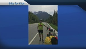 Two Canadians cycle across Canada to support paediatric brain tumour research